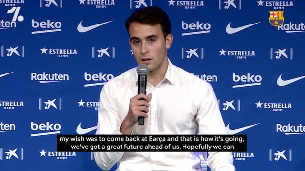 Eric Garcia ready to give everything for Barça