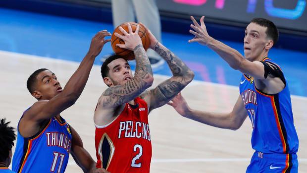 Theo Maledon, New Orleans Pelicans, Lonzo Ball, Aleksej Pokusevski