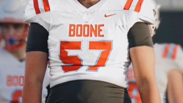 Leyton Nelson, 2022 offensive tackle, Orlando (Fla.) Boone