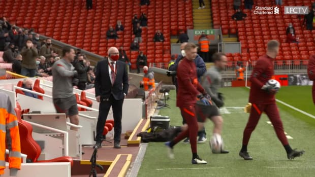 Behind the scenes: Liverpool qualify for the Champions League