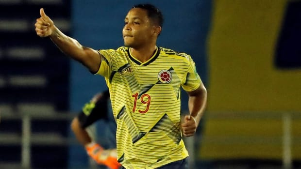 Colombia faces Peru in World Cup qualifying