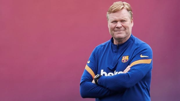 Ronald Koeman is staying as Barcelona manager
