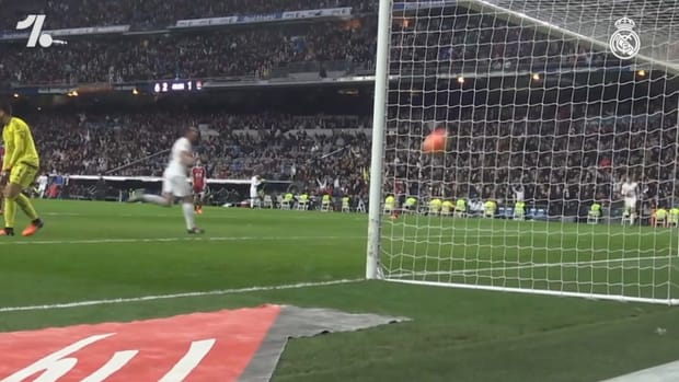 Lucas Vázquez' first goal with Real Madrid