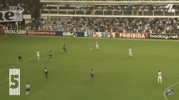 Santos' top five goals against Ceará