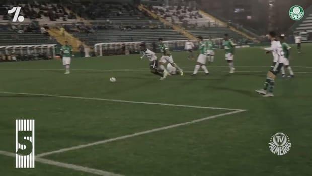 Palmeiras' top five goals against Chapecoense