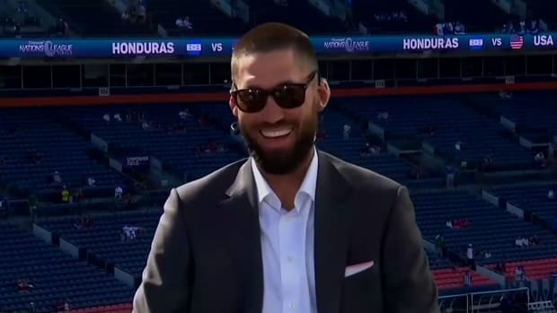 Clint Dempsey is part of CBS's broadcast team for the Concacaf Nations League