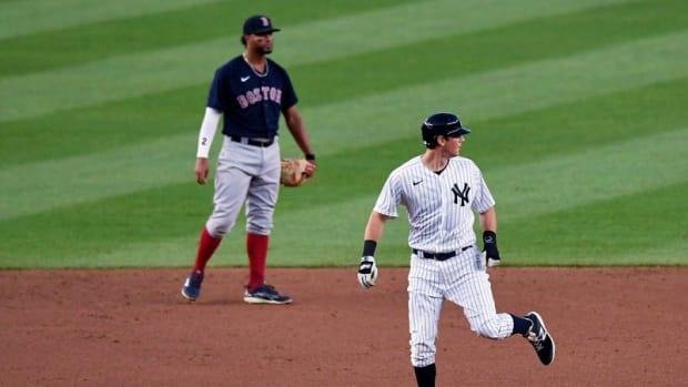 Yankees 2B DJ LeMahieu and Red Sox SS Xander Bogaerts