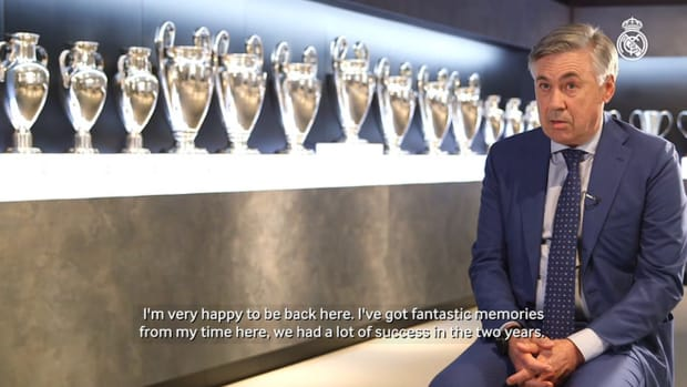 Carlo Ancelotti: 'I'm back with more experience and I know Real Madrid very well'
