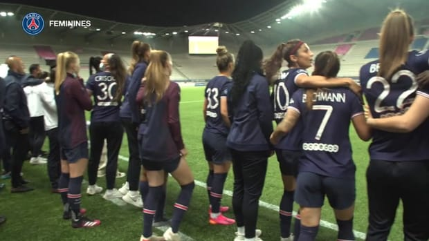PSG Women win French league for the first time