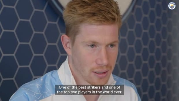 De Bruyne: 'Crazy' to follow in footsteps of Henry and Ronaldo