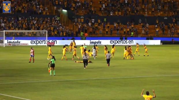 Behind the scenes: Tigres Femenil's league title celebrations