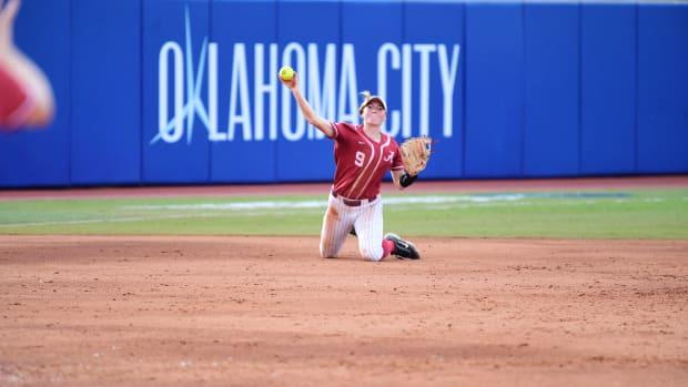 Alabama softball WCWS 2021, Taylor Clark