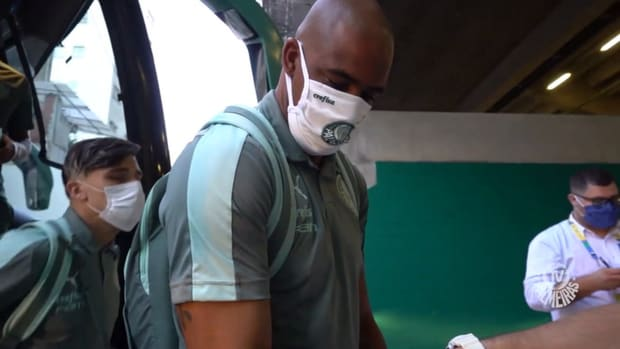 Behind the scenes of Palmeiras' victory over Chapecoense