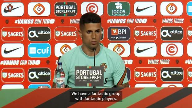 """João Cancelo praises Portugal squad for Euro: """"Fantastic players"""