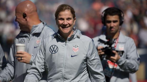 Jill Ellis as USWNT coach
