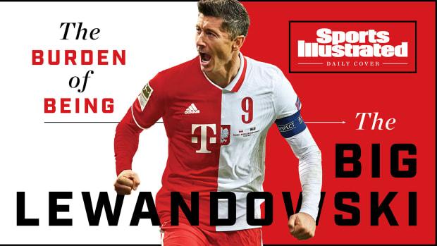 Bayern Munich and Poland star Robert Lewandowski