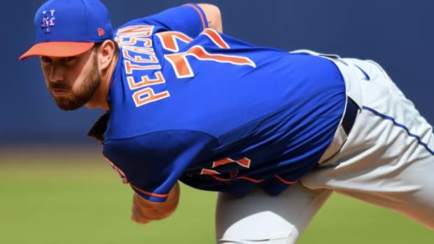Mets pitcher David Peterson