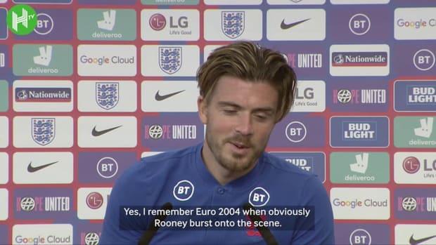Jack Grealish on Wayne Rooney heroics, Gascoigne praise