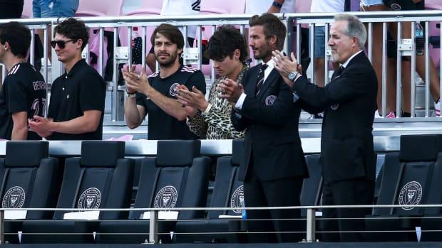 Inter Miami owners Jorge Mas and David Beckham