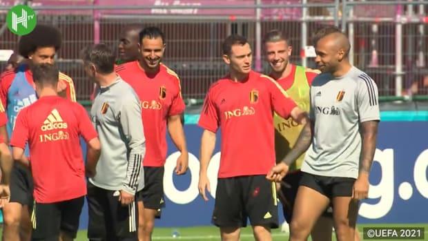 Behind the scenes: Belgium stars prepare for Euro 2020
