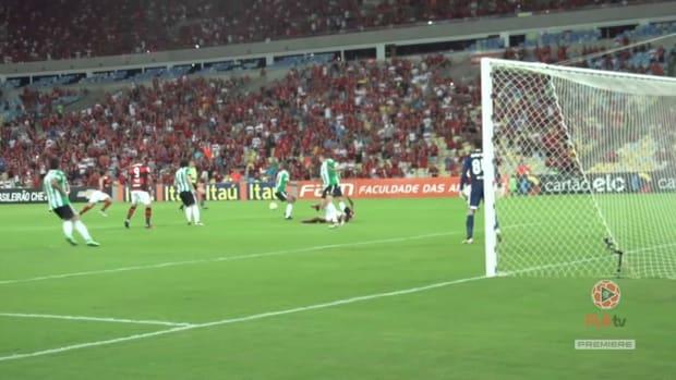 Flamengo's top five goals against Coritiba