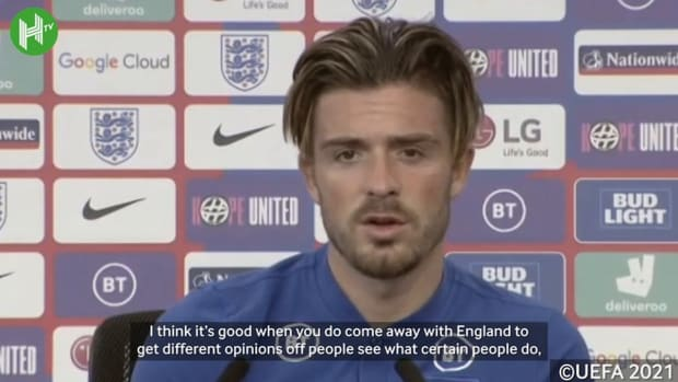 Grealish on looking up to Kane and playing for England