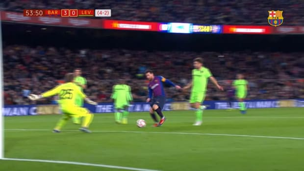 Messi's recent Supercopa and Copa del Rey goals