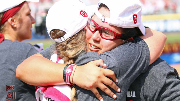 Juarez hug v. FSU 3-1