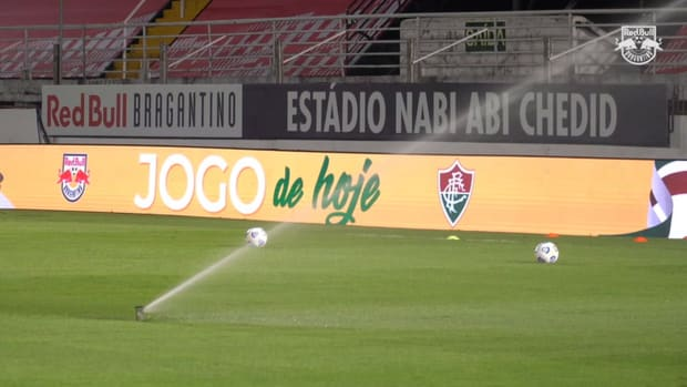 Behind the scenes of Red Bull Bragantino's victory over Fluminense