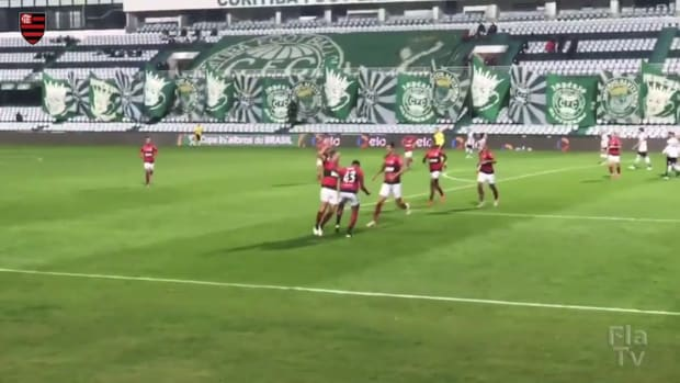 Flamengo beat Coritiba in the third round of 2021 Brazilian Cup
