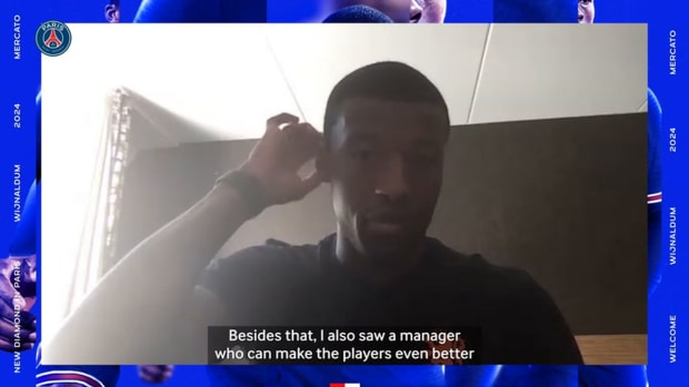 Wijnaldum ready for fresh challenge after completing PSG move