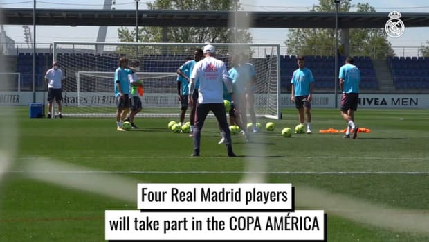 Four Real Madrid players will take part in the Copa America