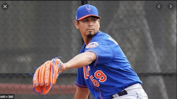 New York Mets pitcher Carlos Carrasco