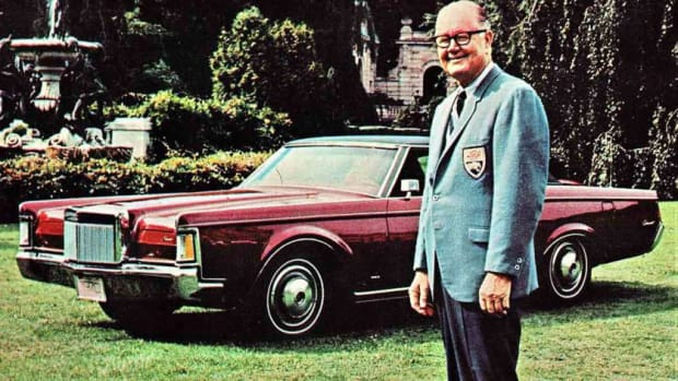 Byron Nelson and the 1971 Lincoln Continental Mark III