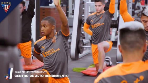 Liga de Quito prepare for second part of the season