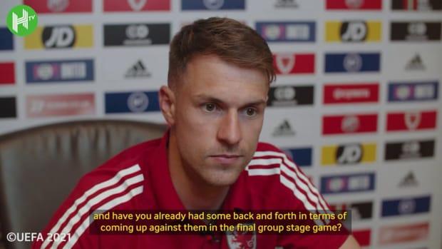 Aaron Ramsey on facing Juventus team-mates at Euro 2020