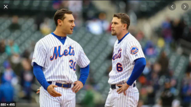 New York Mets right fielder Michael Conforto and second baseman Jeff McNeil