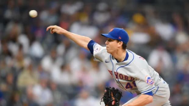 Mets pitcher Jacob deGrom