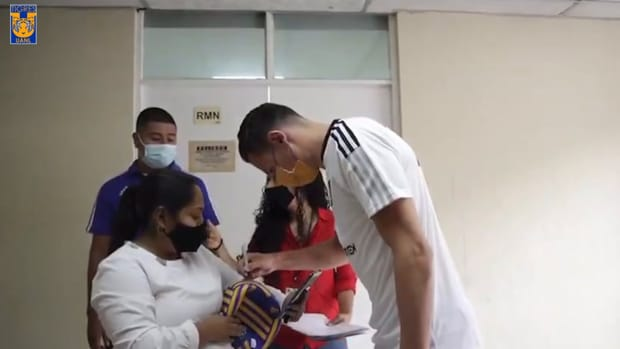 Thauvin arrives at Tigres
