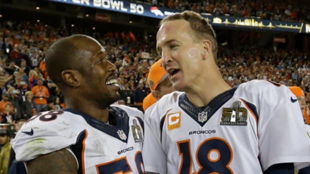 Von Miller, Peyton Manning