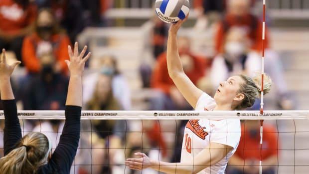 Madi Kubik, 2020-21 NCAA Women's Volleyball Tournament