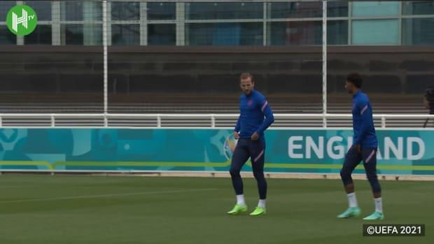 England put in final preparations ahead of Croatia