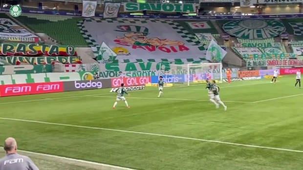 Raphael Veiga's goal against Corinthians
