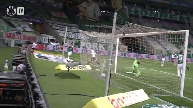 Gabriel's goal against Palmeiras