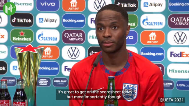 Sterling on Croatia win and Kalvin Phillips