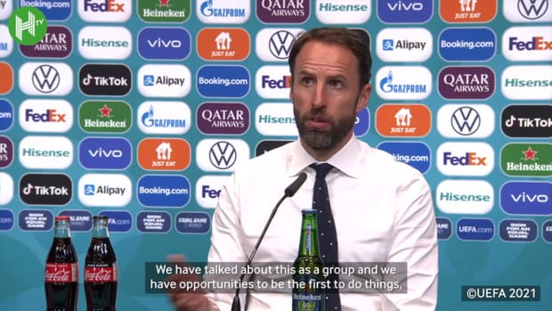 Southgate: 'The pressure is what we decide it to be'