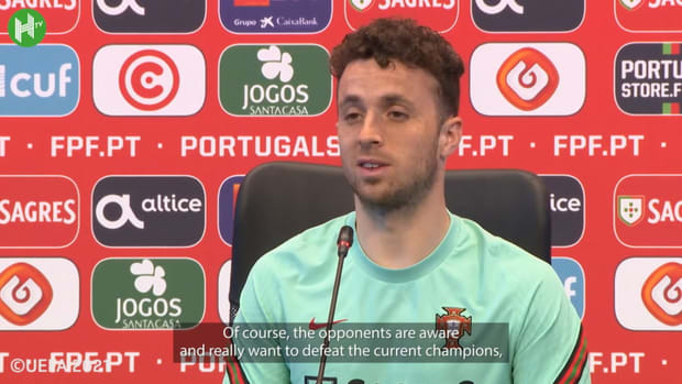 """Diogo Jota: """"There's no extra pressure for being the champions"""""""