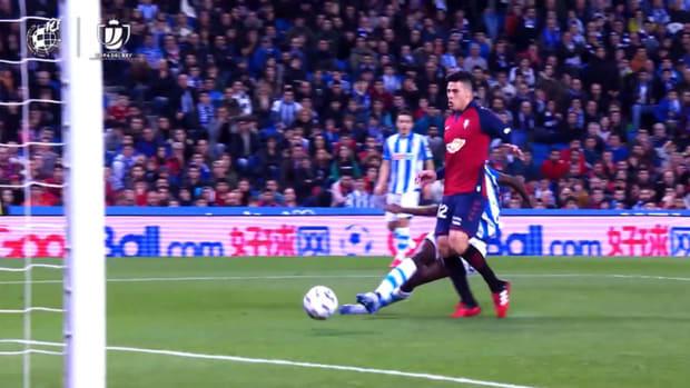 Alexander Isak's best Copa del Rey goals