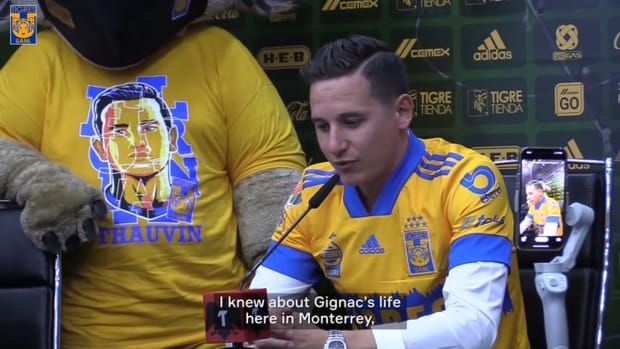 Florian Thauvin on joining Tigres and reuniting with Gignac