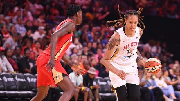 Brittany Griner during the 2019 WNBA All Star Game.